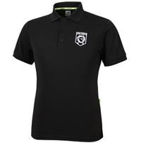 디아도라 엠보시 Polo.T SS 폴로 반팔 티셔츠 블랙