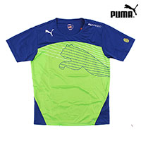 푸마 반팔 티셔츠 653598-28 에보스피드 캣 그래픽