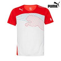 푸마 반팔 티셔츠 653598-30 에보스피드 캣 그래픽