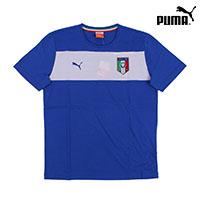 푸마 반팔 티셔츠 741025-01 이탈리아 뱃지