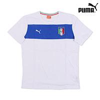 푸마 반팔 티셔츠 741025-02 이탈리아 뱃지