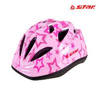 스타 아동용 헬멧 RD8560-13 Pink 보호대 스포츠용품
