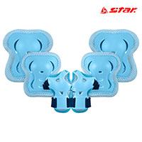 스타 아동용 보호대 세트 RD9700-07 Blue 스포츠용품