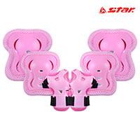 스타 아동용 보호대 세트 RD9700-13 Pink 스포츠용품