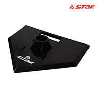 스타 뉴 티볼 폴대 고무 베이스 WXK5003 스포츠용품