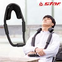 스타 XA800-03 넥 핏 블랙 자세교정 목 베개
